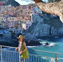 MJ in Cinque Terre (Rex Montalban Photography) Tags: rexmontalbanphotography italy manarola cinqueterre family wife