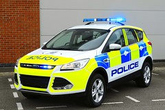 New Ford Kuga - (DK66 AEA) (S11 AUN) Tags: cheshire police ford kuga 4x4 rural patrol panda car incident response vehicle irv 999 emergency dk66aea