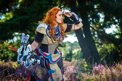 3 (Weiman) Tags: horizon zero dawn cosplay aloy guerilla games arrow bow outdoor
