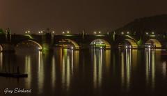 IMG_3159 (guyehrhard) Tags: prague tchequie nuit pont pontcharles rivire