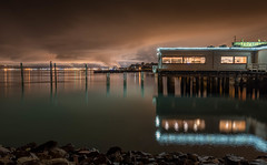 Harbor Lights (llabe) Tags: waterfront cloud nightlights lights harborlights commencementbay pugetsound tacoma washington nikon d750