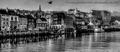 Whitby Harbour Best Viewed By Pressing L (www.jonathan-Irwin-photography.com) Tags: sea boats fishing harbour gulls lifeboat whitby vessels whitbyabbey wwwjonathanirwinphotographycom