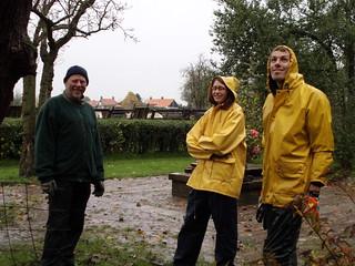 Natuurwerkdag 2012 - De Peerdegaerdt - 3 november 2012
