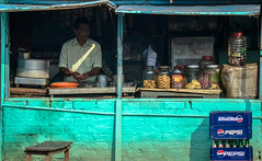 Tea stall for truck drivers..!! (HareshKannan) Tags: color colour truck nikon tea border stall kerala attractive driver tamilnadu drivers 55200mm d3100