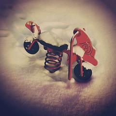 . (tsienni) Tags: winter snow playground children kid