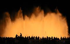 Plaza Espaa, Barcelona (frank35440) Tags: barcelona plaza espaa fountain night nacht springbrunnen