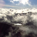 Surrounded by sky and cloud on Grasmoor