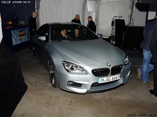 2014 BMW M6 Gran Coupe uncovered .  first pictures of bmw m6 gran coupe with out camouflage