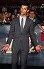 Taylor Lautner at the premiere of 'The Twilight Saga: Breaking Dawn - Part 2' at Nokia Theatre L.A. Live. Los Angeles, California
