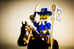 Soldier (leoabreu) Tags: horse canon toy soldier photography rebel photo war raw lego minifig 1855mm lightroom minifigure t2i