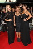 Mollie King, Vanessa White and Frankie Sandford from The Saturdays The Twilight Saga Breaking Dawn Part 2 UK premiere - arrivals London, England