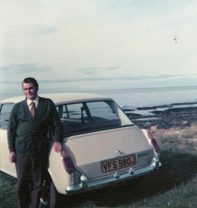 George Morrison 1970s