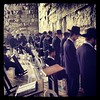 Kotel is chill tonight. Praying for peace!