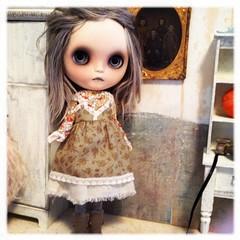 Bijou wearing AtomicBlythe outfit.