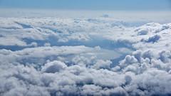 Lake Yamanakako (mizgraph_) Tags: sky cloud mountain lake nature japan landscape fuji mountfuji fujisan  mtfuji yamanashi fujiyama yamanaka  dslra550