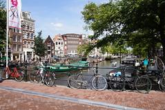 Bikes & canals (H Burton) Tags: amsterdam canal bikes amsterdamcanal