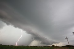 On its Way (thechasethestorm) Tags: sky storm weather photography thunderstorm lightning severe severeweather shelfcloud severethunderstorm weatherphotography extremesky cglighning