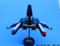 Rapid Intercept Viper 4 (Jannac Fenwal) Tags: fighter lego space police vic viper rapid moc starfighter intercept agentwho rapidinterceptviper