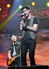 Danny O'Donoghue and Mark Sheehan of The Script Cheerios Childline Concert 2012 held at the O2 Arena