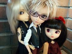 Yuki, James & Kira (Lunalila1) Tags: fur glasses james outfit doll yuki wig taylor groove pullip kira desing urasawa gyro arion taeyang stica balastegui astunkiki