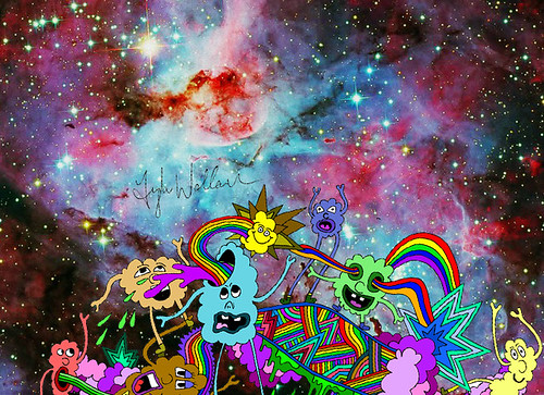 Space rave via #cloudzbyTY