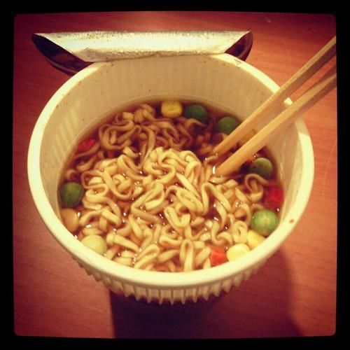 ed oggi zuppa tutta cinese!