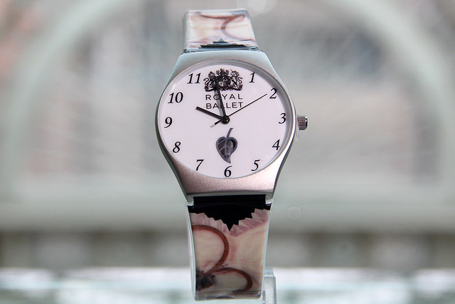 Royal Ballet Watch, available from the Royal Opera House Shop