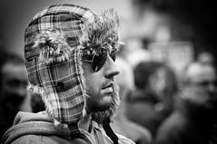 Frío [Explore] (BuRegreg) Tags: street spain streetphotography explore streetphoto manifestacion 2012 albacete castillalamancha huelgageneral14n