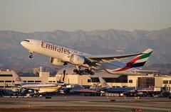Emirates - A6-EWA (InSapphoWeTrust) Tags: 2012 klax lax emirates 77l a6ewa