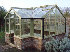 Swallow Mallard Greenhouse (8'9 x 11'5) on brick base (greenhouses uk) Tags: greenhouse mallard swallow