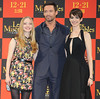 The Premiere of 'Les Miserables' Featuring: Amanda Seyfried, Hugh Jackman, Anne Hathaway