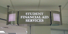 Interior Wayfinding Suspended Sign