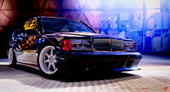 Mercedes Benz 190E (BlackRockBacon) Tags: light xbox360 mercedes benz videogames topgear 190e forzamotorsport4