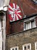 LFH in Denmark Street (trailerfullofpix) Tags: uk england streetart london japan geotagged japanese unitedkingdom flag guessed guesswherelondon londonguessed risingsun 2012 lfh gwl guessedbymrdamcgowan geo:lat=5151544275770834 geo:lon=012914749599622155