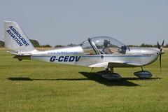 G-CEDV (johnmorris13) Tags: comptonabbas ev97 egha teameurostar cosmikaviation gcedv