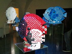 IMG_1529 - pesci preziosi (molovate) Tags: mostra opera arte acquario scultore legno pesce vetro scultura installazione volate tafme