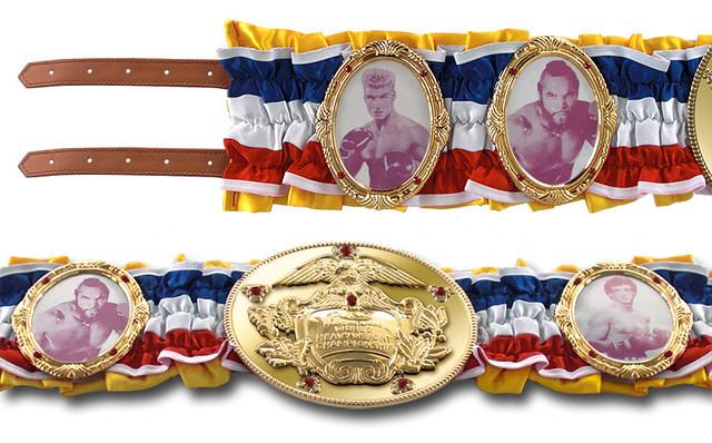 『洛基』世界冠軍腰帶電影道具複製品