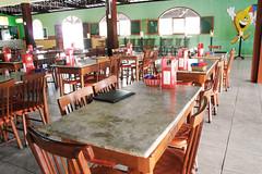 Roadside restaurant (luceknight) Tags: brazil food brasil table restaurant foods drink empty restaurante samsung eat drinks seats tables roadside pernambuco gravat roadsiderestaurant nx11 reidacoxinha