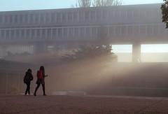 SFU Morning Mist (jvde) Tags: sfu 3570mmf3345nikkor