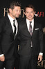 Andy Serkis and Elijah Wood, Premiere of 'The Hobbit: Unexpected Journey' New York City