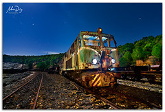 Midnight Express (alonsodr) Tags: lighting longexposure nightphotography lightpainting night noche minas nocturnal sony riotinto torch mines nocturna alpha alonso carlzeiss nerva linterna iluminacin largaexposicin a900 alonsodr fotografanocturna alonsodaz alpha900 cz1635mm