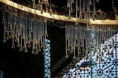 Sakirin Mosque. Detail of the Chandelier. (Bernardo Ricci Armani PhotographingAround.Me) Tags: turkey nikon istanbul mosque ceiling chandelier camii d3s sakirin zeynepfadlloglu