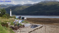 Wash day. (northernkite) Tags: beach scotland highlands loch foreshore carron wasday