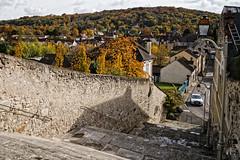l'escalier DxOFP LM_P0972 (mich53 - Thanks for 3000000 Views!) Tags: france village vtheuil valdoise leicamtype240 escalier saisons staircase arbres sky colors street automne