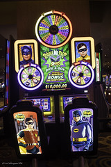Las Vegas 2016-1960's Batman TV Series Gambling Machine 02 (JUNEAU BISCUITS) Tags: lasvegas casino gambling nevada slotmachine batman wonderwoman lyndacarter adamwest burtward 60stelevision comicbook superhero popart nikond810 nikon