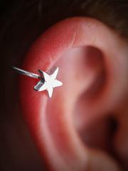 something new {explore} (Leanne S.) Tags: macromondays macro star ear
