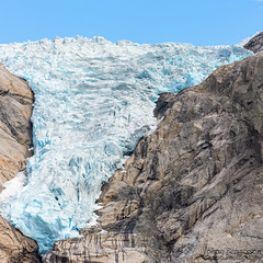 Topppen p Briksdalsbreen (johanbe) Tags: briksdalsbreen tamron landscape glacier ice mountain berg summer olden norge glacir thebriksdalglacier