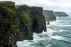 CliffsofMoher (2 av 3)_pe (PeterSundberg66 former PeterSundberg65) Tags: ireland cliffs moher coast atlantic clouds cliff nature dark watch outdoor landscape bluff ridge