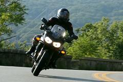 Yamaha FZ1 1608203584w (gparet) Tags: bearmountain bridge road scenic overlook motorcycle motorcycles goattrail goatpath windingroad curves twisties outdoor vehicle