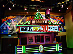 Chocolate Theater (raymondclarkeimages) Tags: raymondclarkeimages rci 8one8studios usa sony show hershey theater 3d colors cybershot chocolate hersheypark entertainment tickets